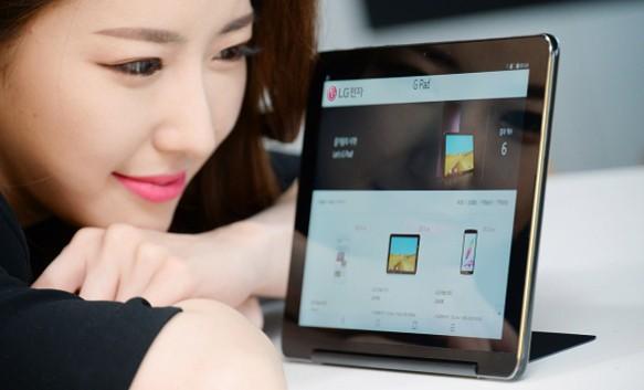 LG представила большой планшет G Pad III 10.1