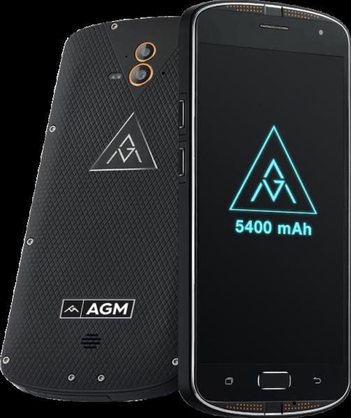 AGM X1: влагозащищенный смартфон с долгоиграющим аккумулятором