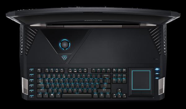 Predator 21 X: игровой ноутбук от Acer — с изогнутым экраном