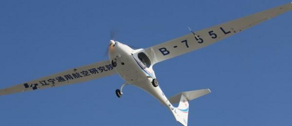 В Китае создан «водородный» самолет
