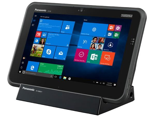 Panasonic Toughpad FZ-Q2 — бесшумный планшет с защищенным корпусом