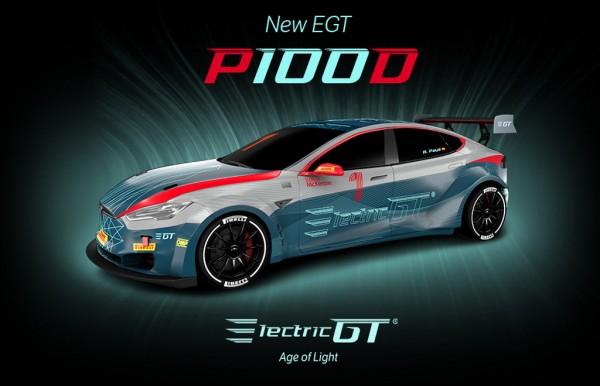 Гоночная версия Tesla Model S стала быстрее