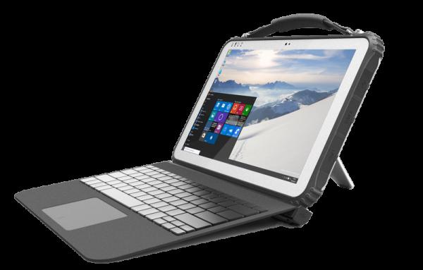 Защищенный планшет Logic Instrument трансформируется в ноутбук