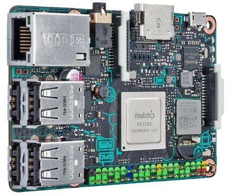 ASUS Tinker Board: дороже Raspberry Pi 3, но гораздо мощнее