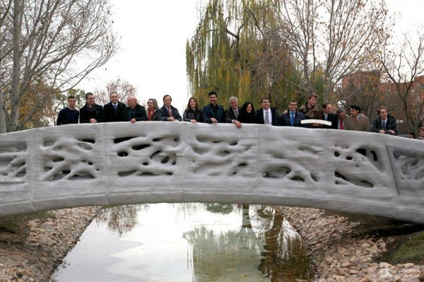 В Испании на 3D-принтере напечатали мост