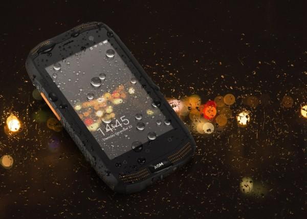 AGM A2: защищенный умный телефон с 4-дюймовым экраном