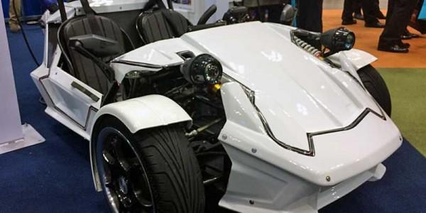 Toyota представила 3-колесный электромобиль