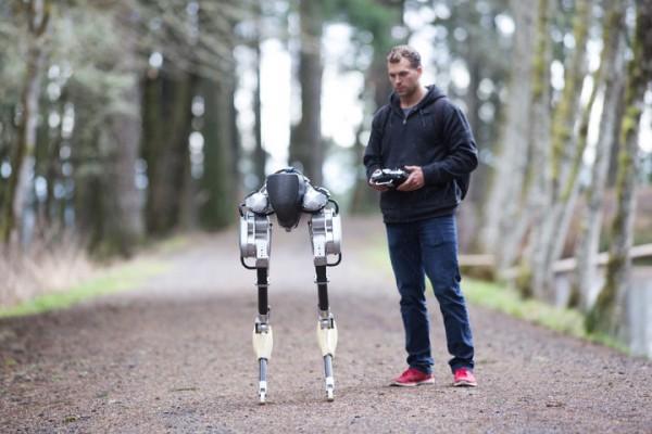 Робот-ходун Cassie: спасатель и курьер