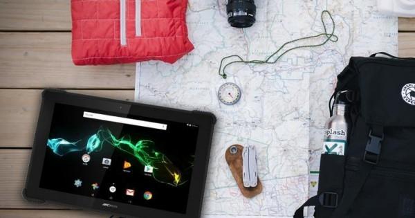 Archos 101 Saphir — планшет с защитой от падений и брызг