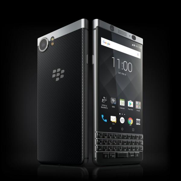 BlackBerry KEYone оснащен физической клавиатурой QWERTY
