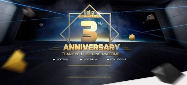 GearBest раздает гаджеты — в честь 3-летнего юбилея