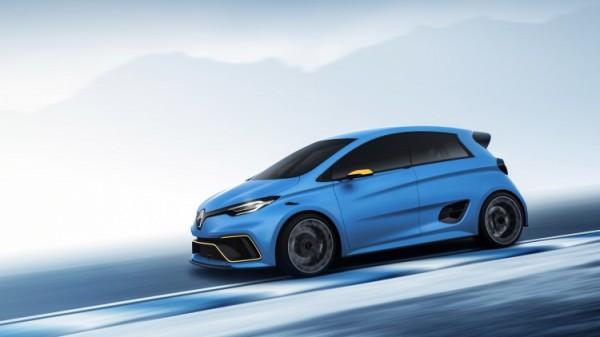 Renault ZOE e-Sport Concept разгоняется до «сотни» за 3 секунды