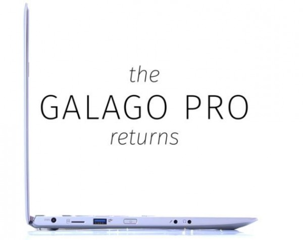 Galago Pro — компактный ноутбук с Ubuntu Linux