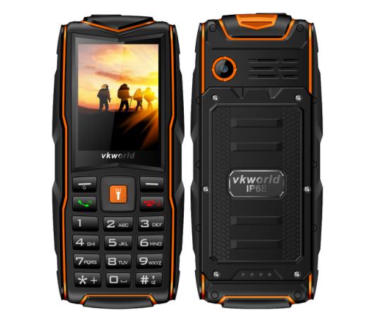 Обновленный телефон Vkworld Stone V3 получил защиту IP68
