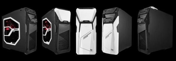 Дизайн игрового компьютера ROG Strix GD30 можно менять