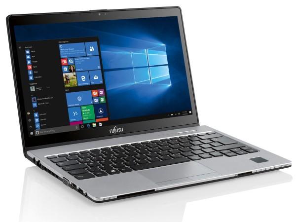 Ноутбук Fujitsu LIFEBOOK S937 работает целый день