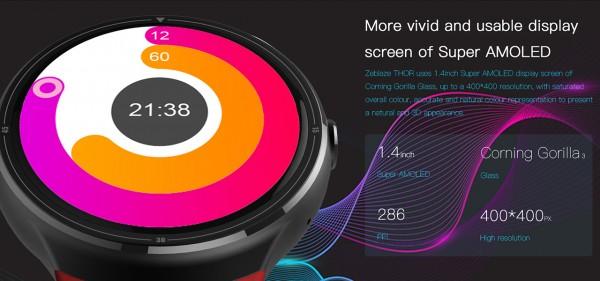 Zeblaze THOR — стильные и мощные умные часы