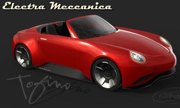 Electra Meccanica Tofino — электромобиль с открытым верхом