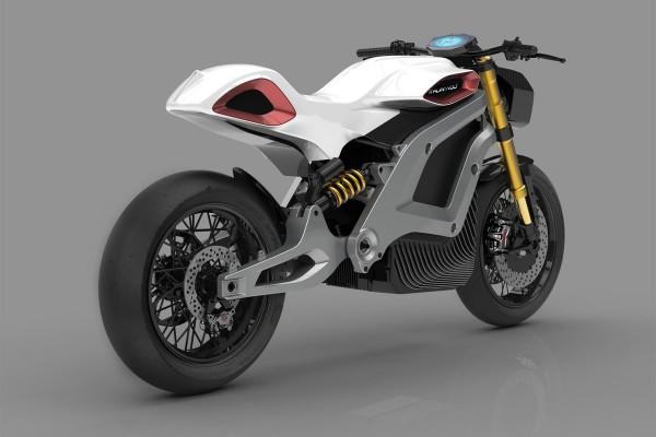 Lacama — электрический мотоцикл, напечатанный на 3D-принтере