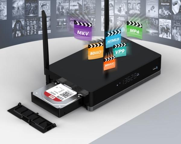 MeLE V9 — телевизионная приставка с отсеком для жестких дисков