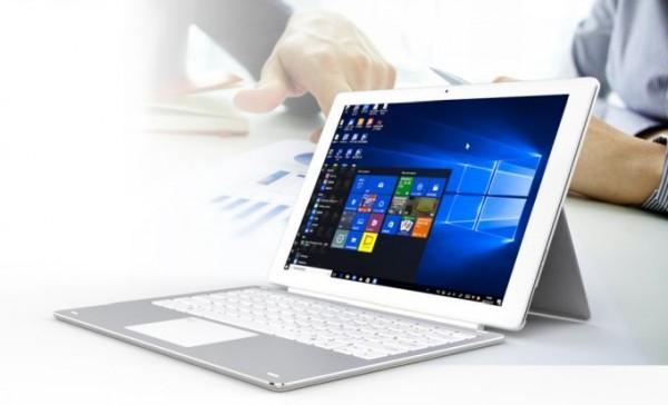 Cube iWork 3X: гибридный планшет с Windows 10 и отличным экраном