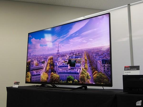 Sharp LV-70002: 70-дюймовый дисплей с разрешением 7680 на 4320 точек
