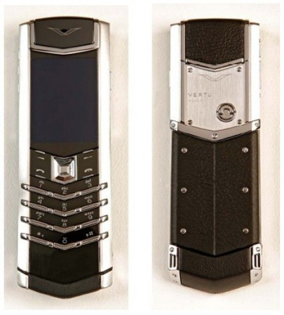 Роскошный телефон Vertu Signature S Design