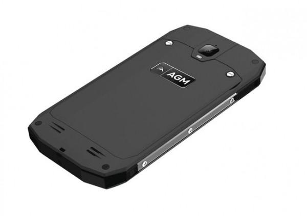 Защищенный смартфон AGM A1Q работает на базе Android 7.0