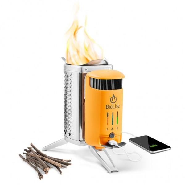 CampStove 2: заряжаем гаджеты от дровяной печи