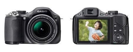 Casio High Speed Exilim EX-FH20 – самый быстрый в мире фотоаппарат