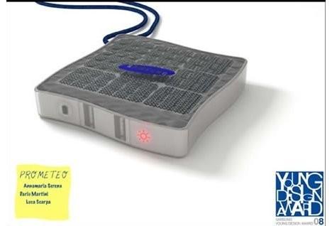 Solar Prometeo – зарядное устройство на солнечных батареях