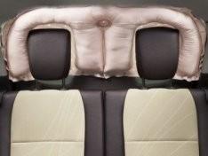 Подушки безопасности для задних сидений