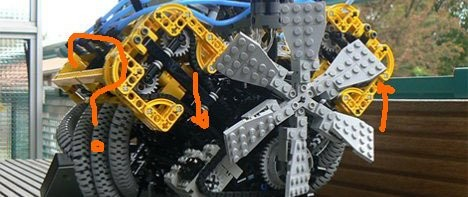В продолжении темы V8 из LEGO