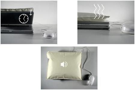 iSleep – подушка для ноутбука