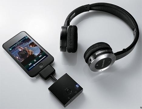 Беспроводные наушники для iPod – Onkyo MHP-UW2