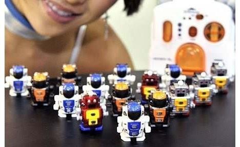 Robo-Q – самые маленькие в мире роботы