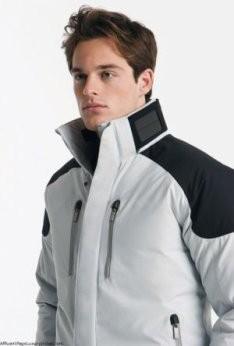 Зимняя куртка на солнечных батареях