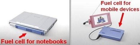 Топливные элементы для ноутбуков от Panasonic