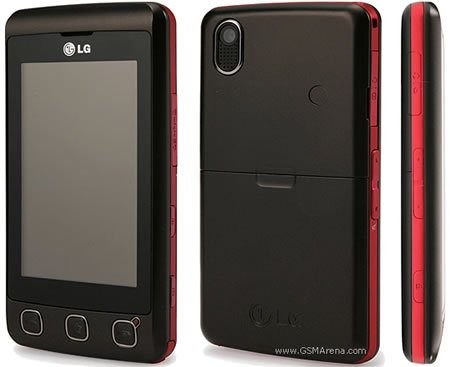 LG KP500 – горячая булочка