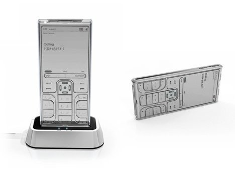 Сотовый телефон на основе электронной бумаги