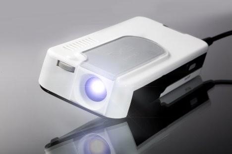 Самый маленький проектор