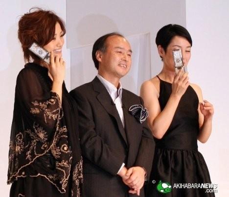 Роскошный телефон Softbank 823SH Tiffany