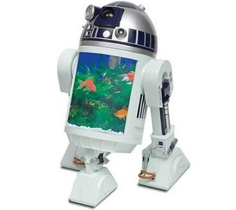 Аквариум в виде R2-D2