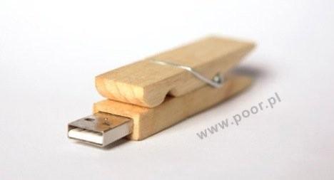 USB-флешка в виде прищепки