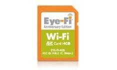 Eye-Fi 4GB Anniversary Edition – беспроводная SD-карта объемом 4 Гб