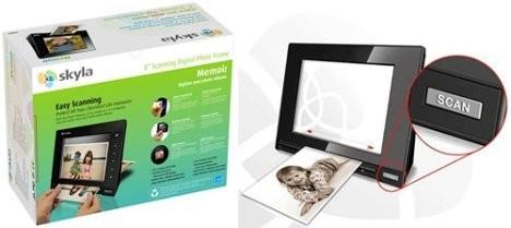 Skyla Memoir – цифровая фоторамка со встроенным сканером