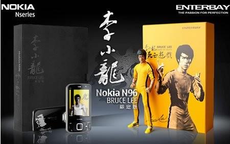 Nokia N96 Bruce Lee Edition – телефон для фанатов восточных единоборств