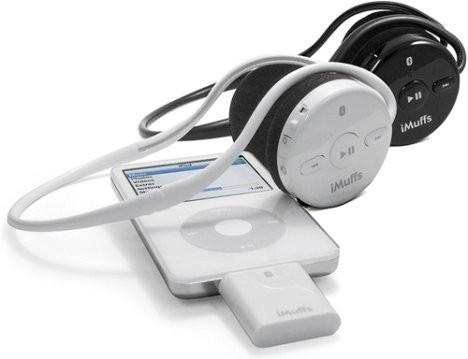 iMuffs – беспроводные наушники для iPod