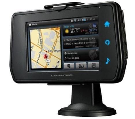 Clarion MiND – мобильное навигационное интернет-устройство