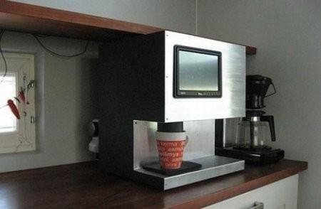 Кофеварка с Windows XP